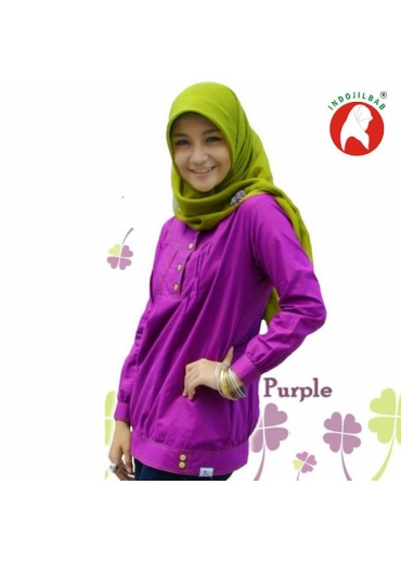 Tunik Celluna Purple