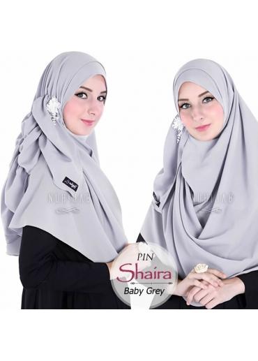 Pashmina Instant - PIN SHAIRA Grey
