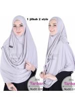 Pin Turban Grey