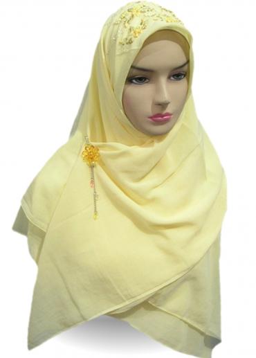 KISWAH - Sulam Pita Kuning 001