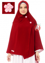 Maryam Stretch Merah Cabe 10 (PO)