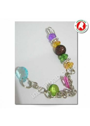 Peniti Jilbab Glitter Ungu 001