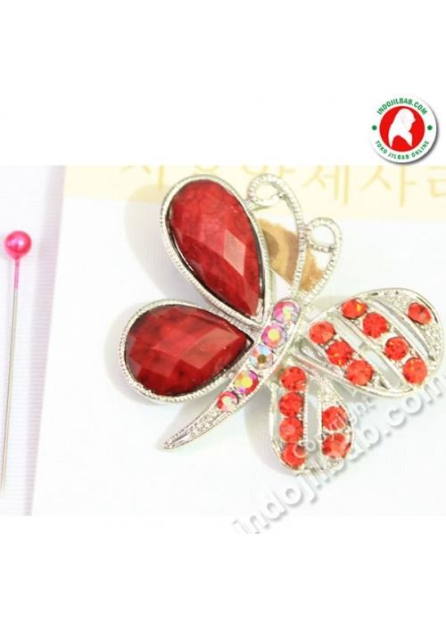 Butterfly Merah 002